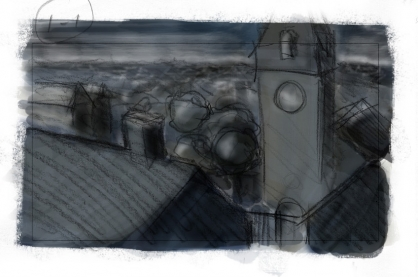 fafc223ad9b8 Today I made some fast color storyboards for the whole movie. Here s some  of the panels.